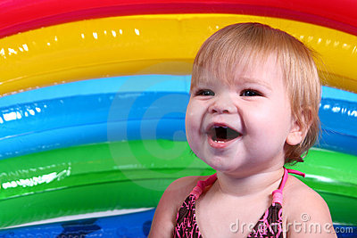 Little Girl Laughing!