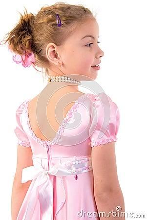 Little Girl Looks Like A Small Princess