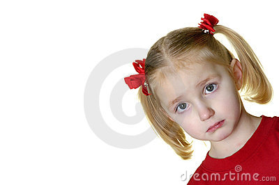 Little Girl Making Faces II 12