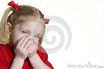 Little Girl Making Faces II  3