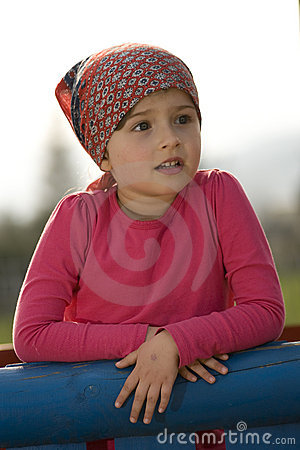 Little Girl Portrait Royalty Free Stock Photography - Image: 8939797