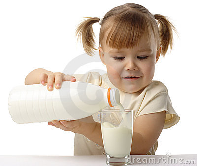 Organic bread over rustic table stock photo royalty free image id - Little Girl Pouring Milk In Glass Royalty Free Stock
