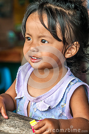 Little Girl Editorial Image