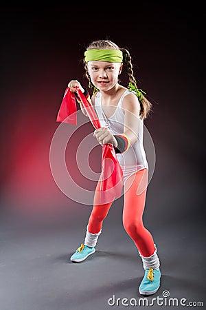 Little Fitness Girl