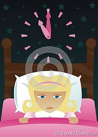 Little Girl s got Insomnia