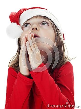 Little girl - santa