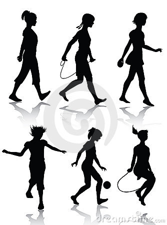 volleyball set clipart