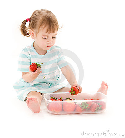 Little Strawberry Models Dreamstime Royalty Free Stock