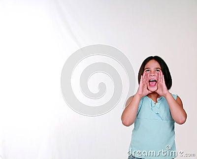 Little Girl Yelling