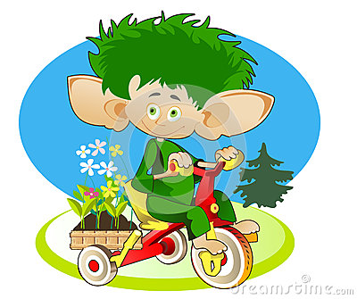 Little Gnom - Gardener