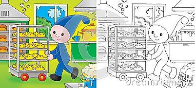 Little gnome baker