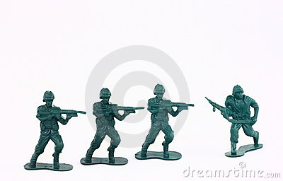 Little Green Army Men / Toy Soldiers