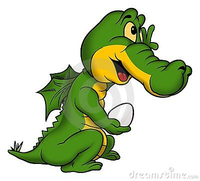 Free Little Green Dragon Stock Photography - 1971852