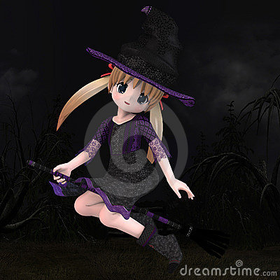 Little Hallowen Witch #01