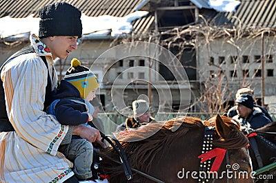Little horseman Editorial Image
