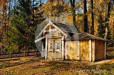 A little house in the forest