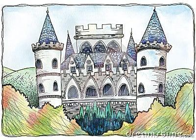 Little Ida s Flowers - The castle