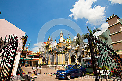 Little India district in Singapore Editorial Stock Photo