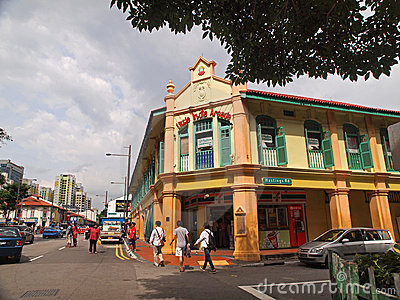 Little India, Singapore Editorial Stock Image