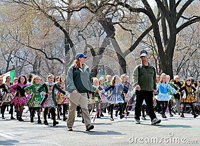 Little Irish Dancers Editorial Image