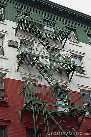 Little Italy fire escape