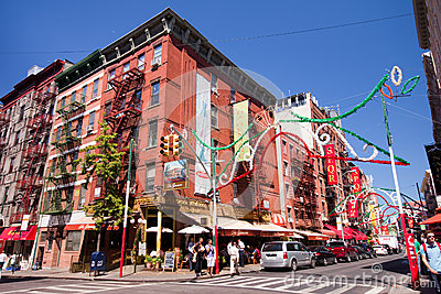 Little Italy NYC Editorial Image