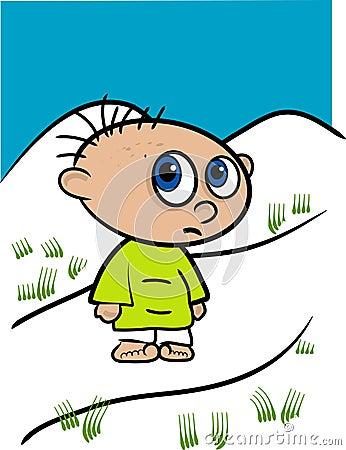 Little Kid Illustration