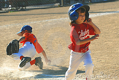 Little league Editorial Stock Photo