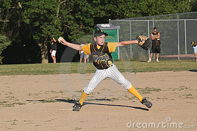 Little League Baseball Editorial Photography