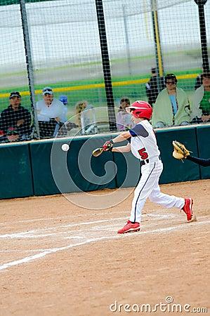 Swinging baseball bat animation