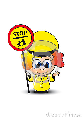 little lollipop lady royalty free stock photography