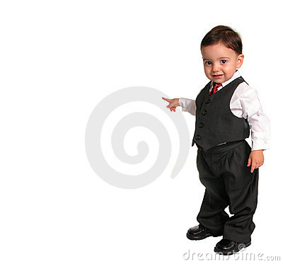 Free Little Man Series: Pointing (2 Of 2) Stock Images - 27924