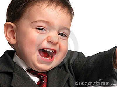 Little Man Series: Salesman Smile