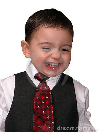 Little Man Series: Salesmen Grin