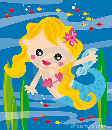 Free Little Mermaid Royalty Free Stock Images - 6558629