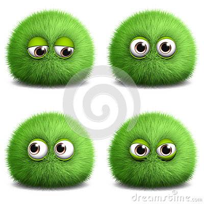 Free Little Monster Stock Photography - 27177722