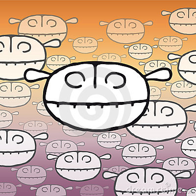 Little monsters (vector)