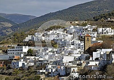 Little Moorish village in the Alpujarra