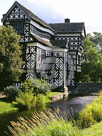Little Moreton Hall - England Editorial Stock Image