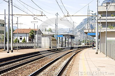 Little mountain rail station