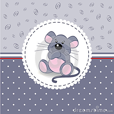 Little mouse baby