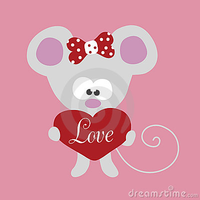Little mouse with big heart