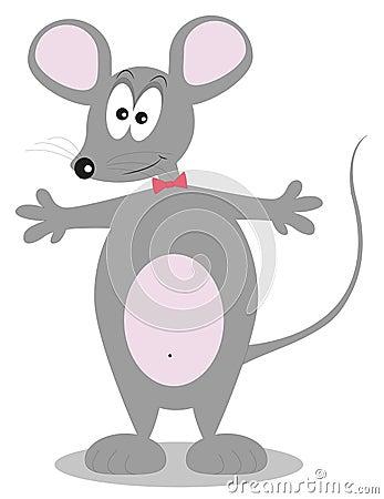Little mouse cartoon