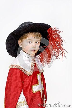 Little musketeer.