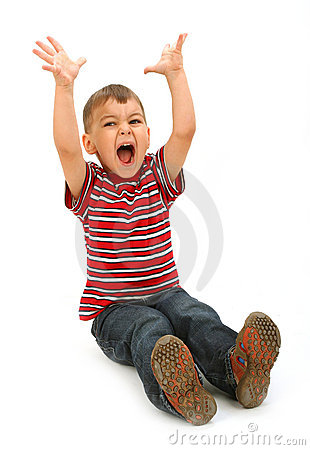 Little Naughty Boy Royalty Free Stock Photos - Image: 14763938