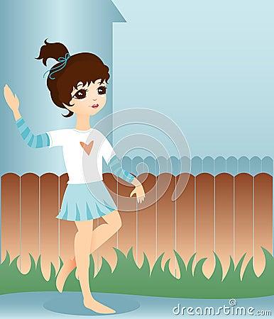 Little Neighbor Girl