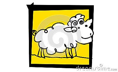 Little nice sheep