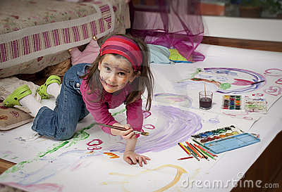 Little painter