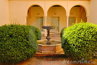 Little Patio At La Cartuja Stock Photos - Image: 23941083