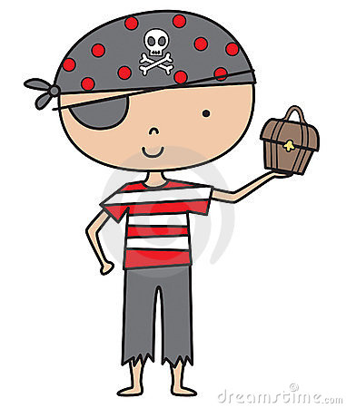 Free Little Pirate Boy Stock Photo - 11444780